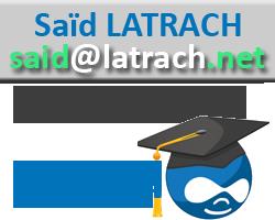سعيد لطراش - Latrach Said développeur Drupal