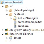 Ant contrib - Getfilename.java