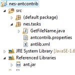 Ant contrib [getfilename] - build.xml